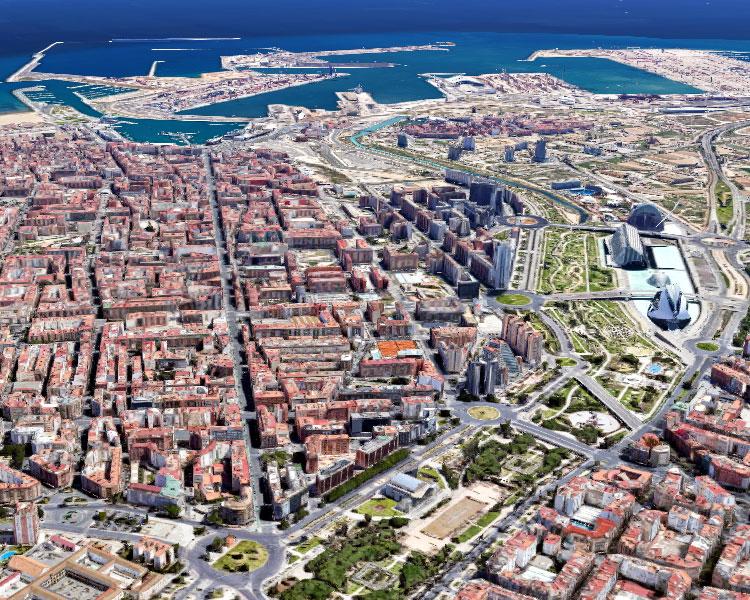 Edificio de oficinas, residencial u hotelero en venta en la avenida del Port, el centro de Valencia